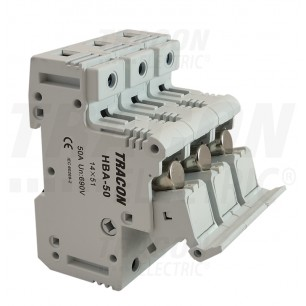 Poistkový odpínač HBA-3P-50 PV14 Tr.