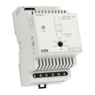 Zdroj PS-30-R (12-24V) regul. DIN