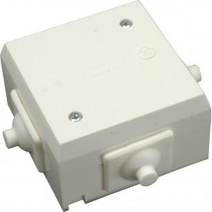 Krabica 6456-13 (sv.+vý.) PVC biel.