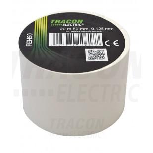 Izolačná páska 50mm/20m PVC biela (FEH 50)
