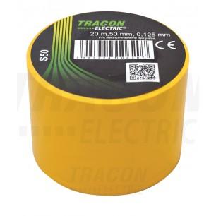 Izolačná páska 50mm/20m PVC žltá (S 50)