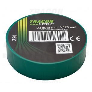 Izolačná páska 18mm/20m PVC zel. (Z 20)