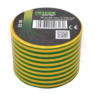 Izolačná páska 50mm/20m PVC zel.-ž. (ZS 50)