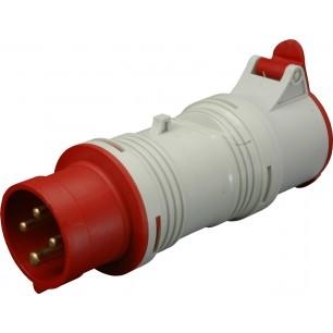 Priemyselný adaptér 16A 5p/4p. (A1653/43) D.K.