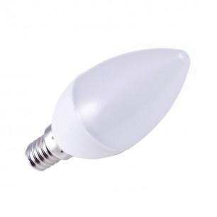Žiarovka. LED E14 5W/6000 (ZLS 702) svie. Ned