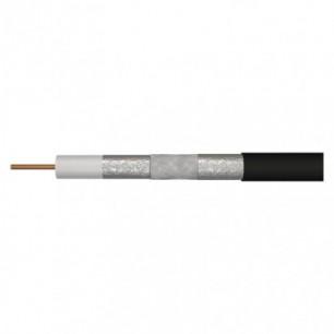 Koaxiálny kábel 75 CB 113 (S5266) UV-stabil čierny