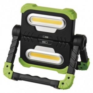 Reflektor LED pracovný nabíjací USB 2x10W (P4536)