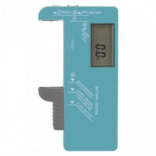 Tester batérií (N0322) AA, AAA, C, D, 9V, gombík.