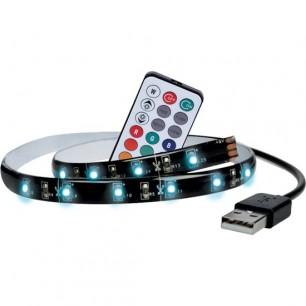 TV LED pasik USB 2x50cm RGB + ovl (WM504)