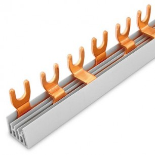Lišta prepojovacia U 3x4-10/210 (3p.) vidlica