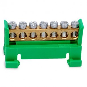 Mostík PE 7 zelený