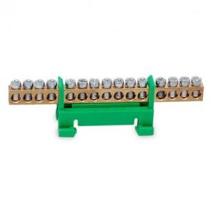 Mostík PE15 zelený