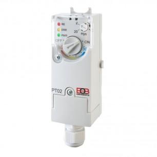 Termostat PT02 príložný elektronický