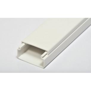 Lišta LV 40x20 biela (D1004K)