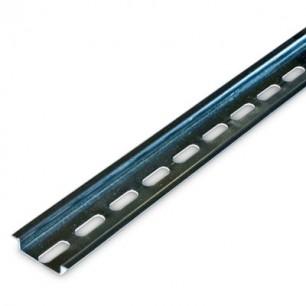Lišta DIN 35/0,1 P (100 x 7,5mm) perforovaná