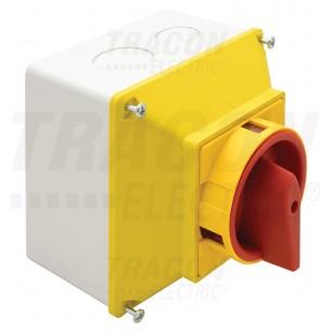 Vačkový spínač TKFL-20 T (žlto-červ + krab)