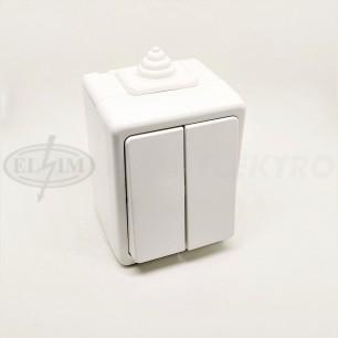 Spín.VDT č.5 (3553-05929 B) ABB biela