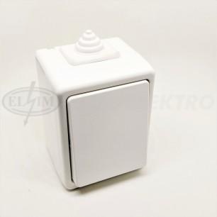 Spínač VDT č.6 (3553-06929 B) ABB biela