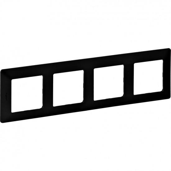 VALENA LIFE rám 4x (7542 54) čierny