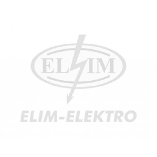 Bužírka-105 IEC 2x0,5 čierná